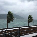 風が強い時のテントの張り方