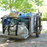 キャンプ道具の積載方法