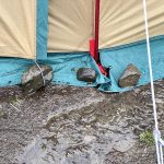 雨でも快適キャンプ!雨の日の設営方法や対策
